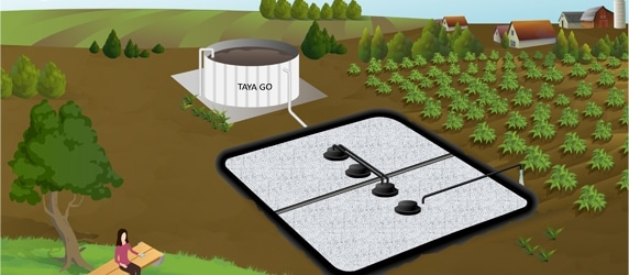 Biological treatment of wastewater pollution for small communities